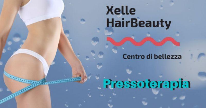 promozione pressoterapia e bendaggi drenanti anticellulite - XELLE CENTRO BELLEZZA