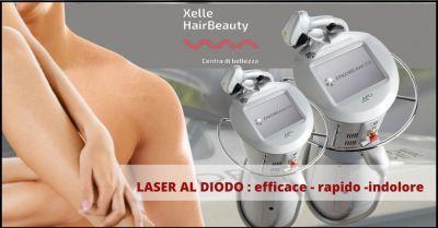 offerta trattamento di epilazione tramite laser al diodo livorno x elle hair beauty