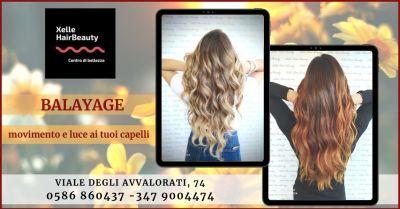 promozione balayage trattamento per capelli naturali e non trattati livorno x elle hair