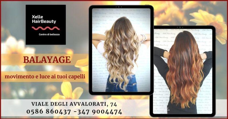 promozione Balayage trattamento per capelli naturali e non trattati Livorno - X ELLE HAIR