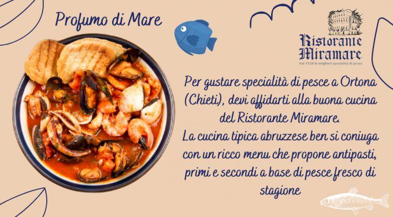 Offerta ristorante tipico abruzzese a Chieti Ortona  – occasione ristorante di pesce a Chieti Ortona