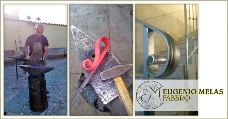 EUGENIO MELAS - offerta fabbro esperto lavorazione artistica del ferro e metalli