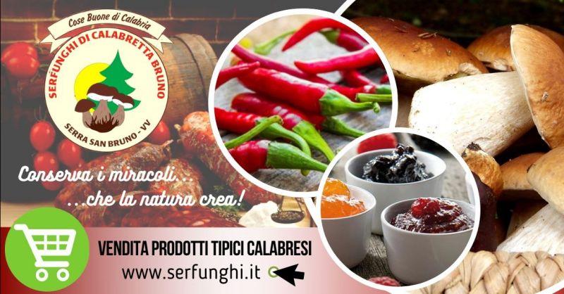 Offerta acquisto prodotti tipici calabresi - occasione vendita specialità calabresi Vibo Valentia