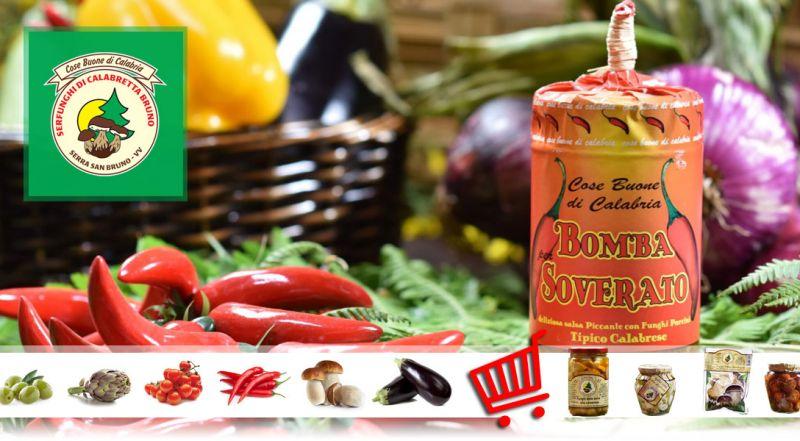 Serfunghi – Offerta vendita peperoncini e piccanti calabresi  – promozione vendita online peperoncini e piccanti