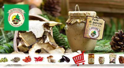 serfunghi offerta vendita ingrosso funghi porcini promozione vendita online funghi porcini