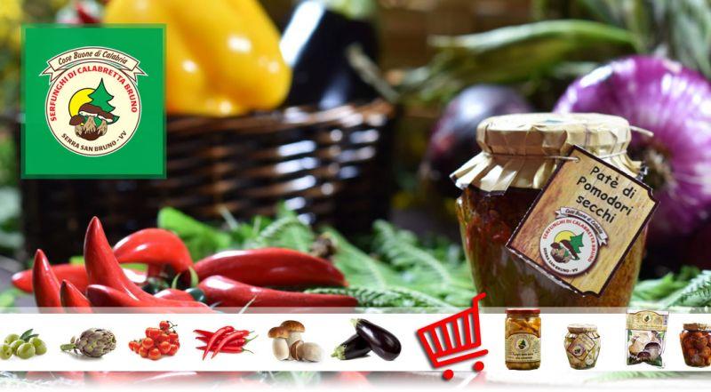 Serfunghi - Offerta vendita ingrosso prodotti tipici Calabresi – promozione vendita al dettaglio prodotti tipici Calabresi