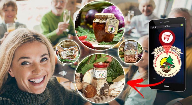 Serfunghi – offerta negozio online prodotti tipici calabresi – promozione prodotti tipici calabresi artigianali online