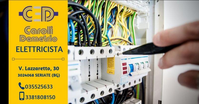 offerta impianti elettrici civili industriali seriate - occasione elettricista pronto intervento