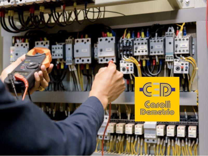 ELETTRICISTA CAROLI impianti elettrici civili di sicurezza -impianto elettrico certificato