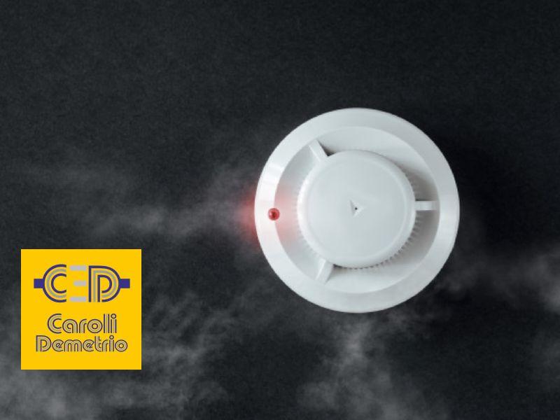 ELETTRICISTA CAROLI offerta rilevatori di fumi alta sensibilita - promo rivelatori fumo