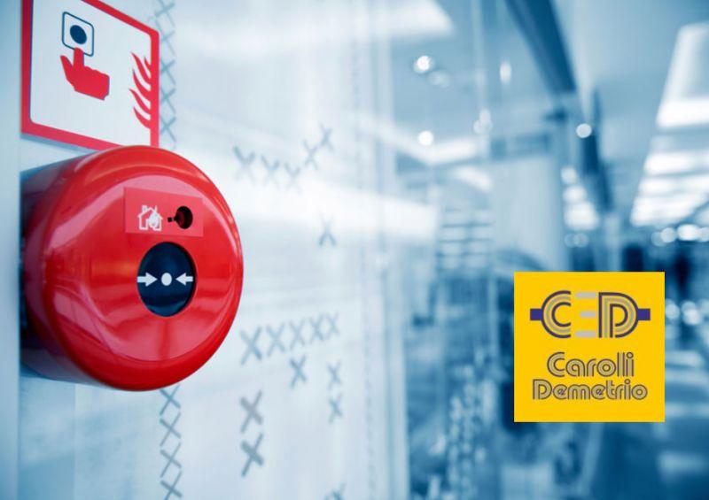 ELETTRICISTA CAROLI promozione impianti antincendio – manutenzioni sistemi sicurezza