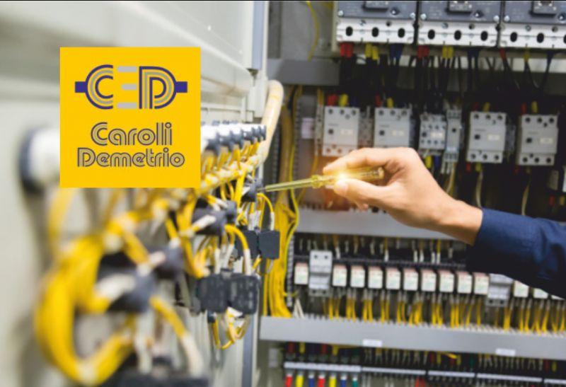ELETTRICISTA CAROLI offerta assemblamento quadri elettrici a norma - cablaggio impianti