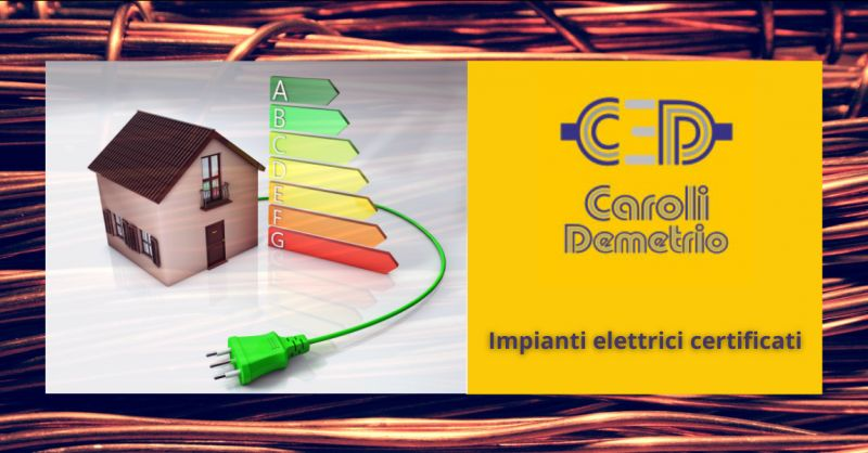 offerta ditta impianti elettrici civili Bergamo - occasione certificazione impianti Seriate