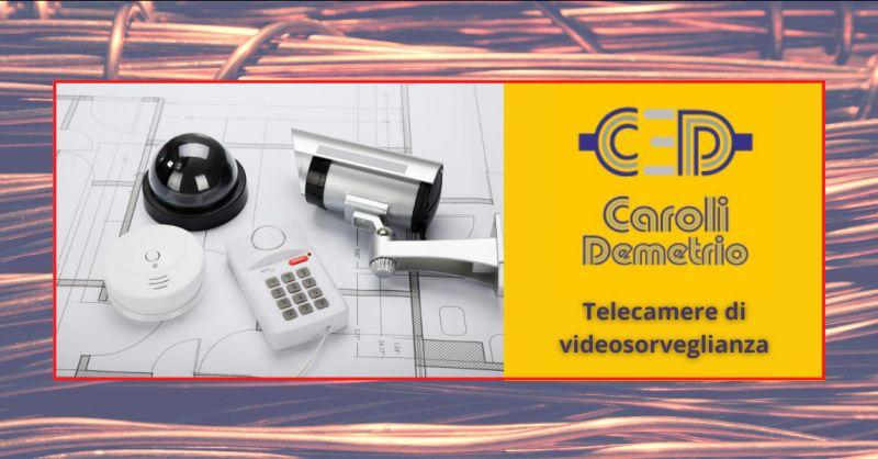 ELETTRICISTA CAROLI - Offerta vendita telecamere videosorveglianza per la casa Bergamo