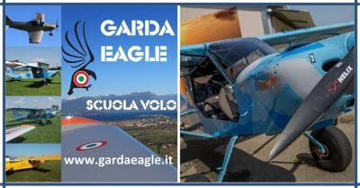 garda eagle scuola volo vds migliore ultraleggero biciclo corso avanzato multiassi motore