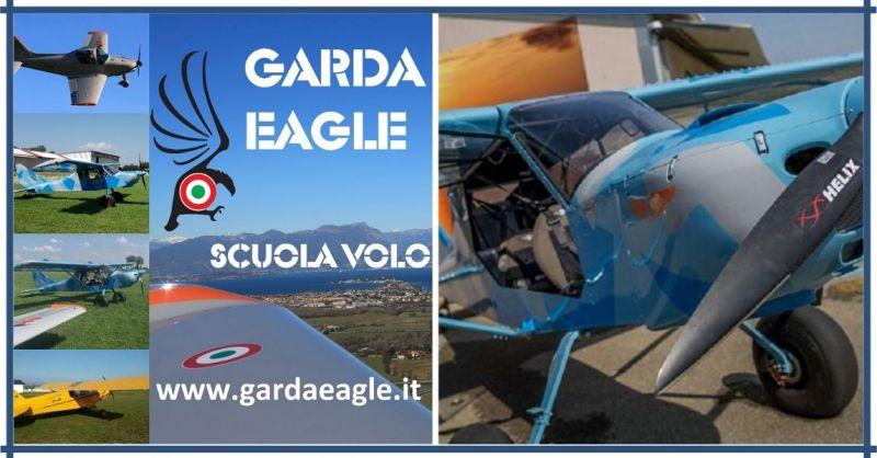 Garda Eagle Scuola Volo VDS – Migliore Ultraleggero Biciclo Corso Avanzato Multiassi Motore
