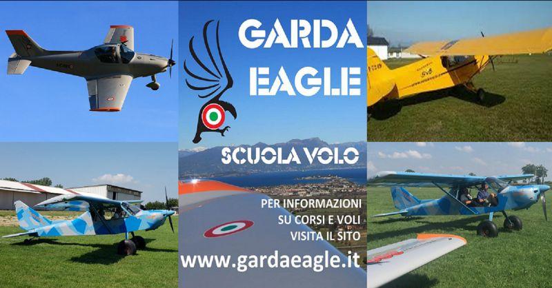 Garda Eagle Scuola Volo VDS Corso Pilota Aereo Ultraleggero Lombardia Attestato Bush Autogiro