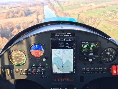 garda eagle scuola di volo ultraleggero con aereo trail nando groppo corso vds tail dragger