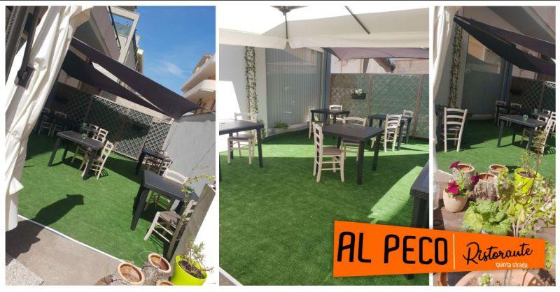 AL PECO Oristano - offerta ristorante ampi spazi all aperto