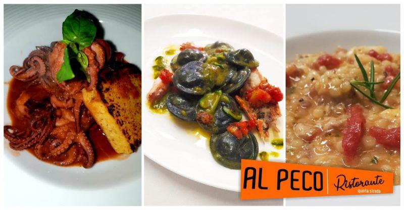 AL PECO Oristano - offerta ristorante dove gustare ottimi piatti a base di carne o pesce