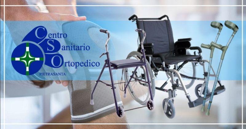 Offerta vendita e noleggio articoli ortopedici - occasione articoli sanitari per anziani Lucca