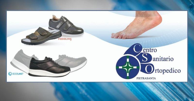 CENTRO SANITARIO ORTOPEDICO - occasione calze ortopediche predisposte per plantari