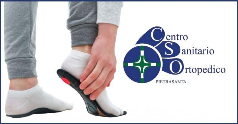 offerta plantari preconfezionati e su misura ortopedici Lucca - CENTRO ORTOPEDICO SANITARIO