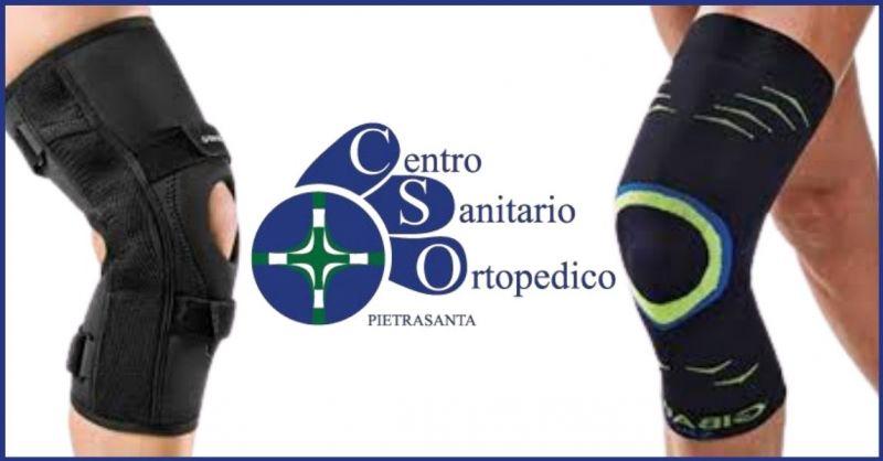 promozione vendita ginocchiere Dr Gibaud e ginocchiere ortopediche Lucca