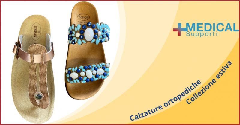 MEDICAL SUPPORTI - Offerta punto vendita calzature ortopediche estive dott Scholl Ragusa