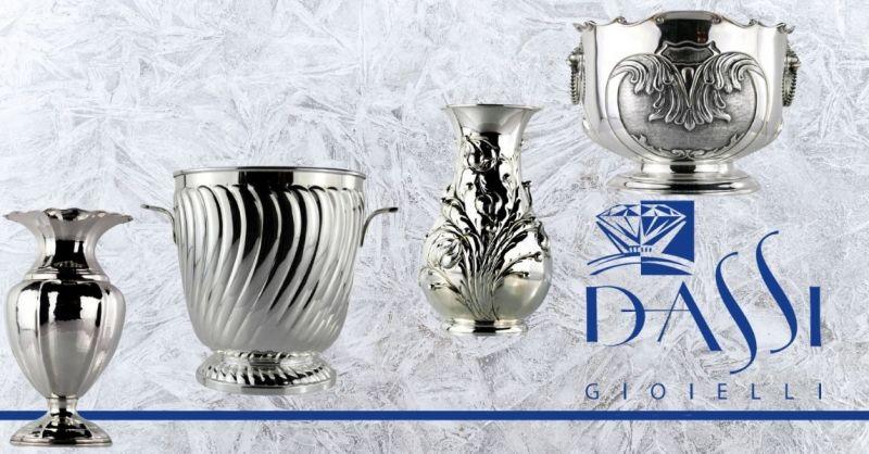 DASSI Gioielli - Promozione vendita online articoli in argento per BOMBONIERE made in Italy