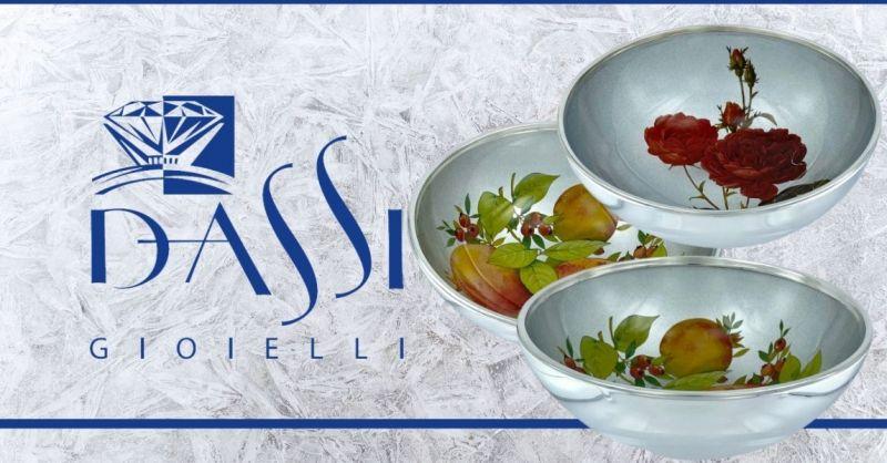 DASSI Gioielli - Offerta vendita online assortimento CIOTOLE e VASI FIORI in ARGENTO made Italy