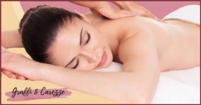 promozione massaggi corpo snellenti e anticellulite lucca centro estetico graffi e carezze