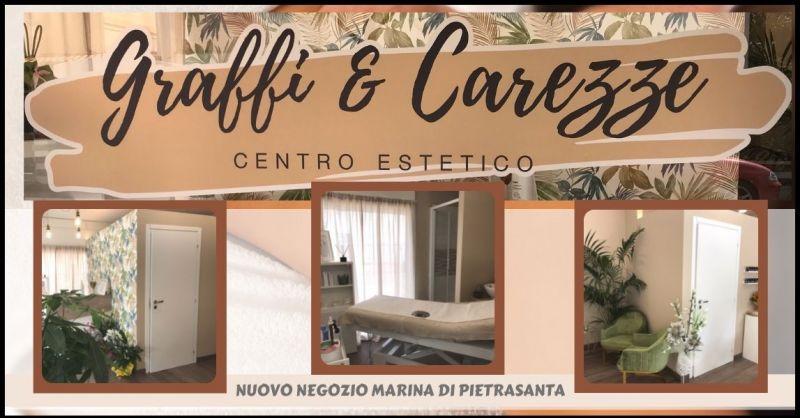 GRAFFI E CAREZZE - occasione centro estetico e trattamenti per cura corpo Marina di Pietrasanta