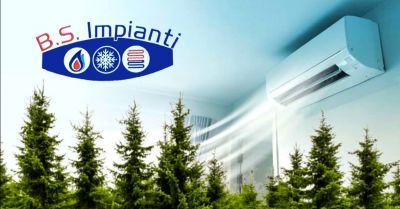 offerta vendita installazione impianti di condizionamento occasione condizionatori con gas r32