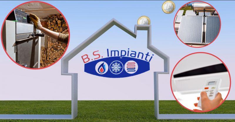 BS IMPIANTI - Offerta incentivi impianti di riscaldamento e condizionatori Ragusa