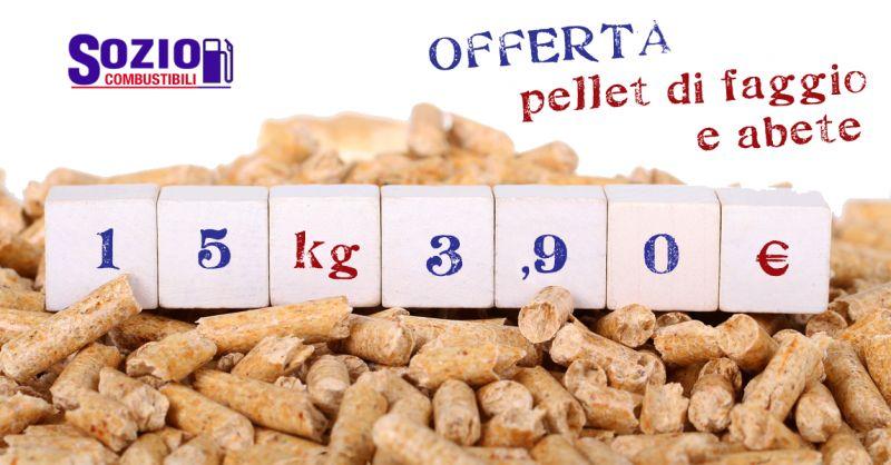 Offerta Sacchi Pellet di Faggio Chieti - Occasione Pellet consegna gratuita Chieti