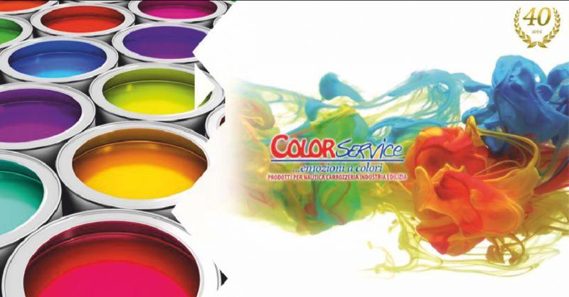 color service offerta vernici per settore della carrozzeria - occasione manutenzione edile fano