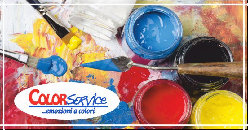 color service offerta laboratorio di formazione caparol pesaro - occasione corso novacolor fano