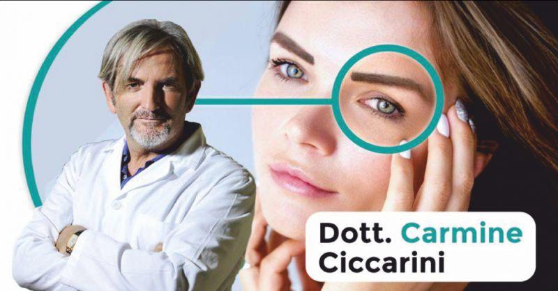 dr carmine ciccarini offerta neuropatia ottica ischemica - occasione terapie oculistiche perugia