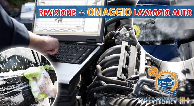 Offerta revisione e lavaggio esterno auto Cosenza – Promozione revisione auto omaggio lavaggio Cosenza
