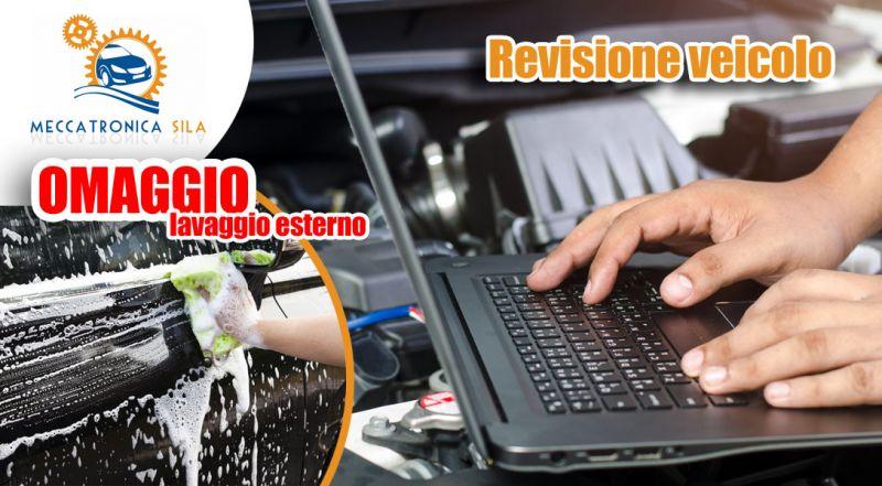 Offerta revisione auto e veicolo Cosenza - Promozione revisione con omaggio lavaggio auto Cosenza