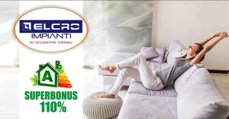 ELCRO IMPIANTI Oristano -  offerta superbonus 110  interventi di efficientamento energetico