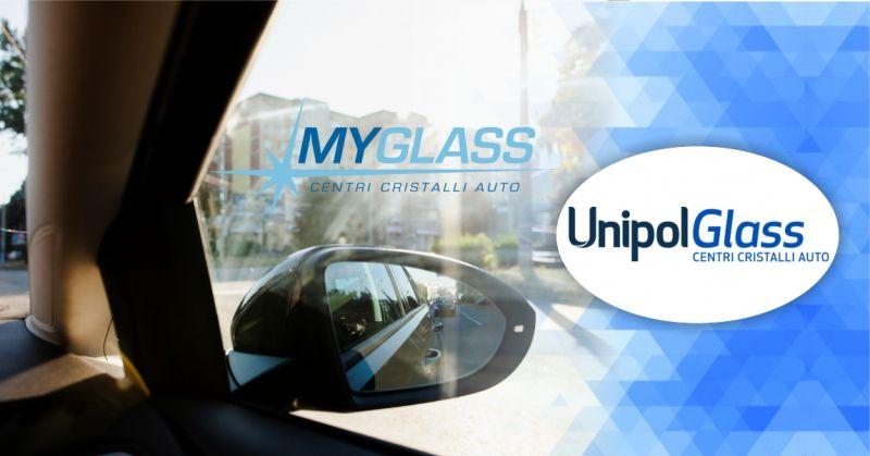 UnipolGlass centri cristalli auto - offerta servizio di sostituzione vetri dei finestrini