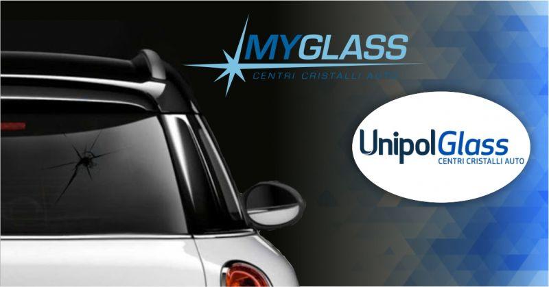 UnipolGlass centri cristalli auto - offerta servizio sostituzione lunotto posteriore