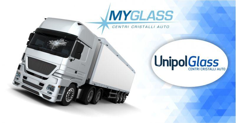 UnipolGlass centri cristalli auto - offerta riparazione e sostituzione vetri trucks