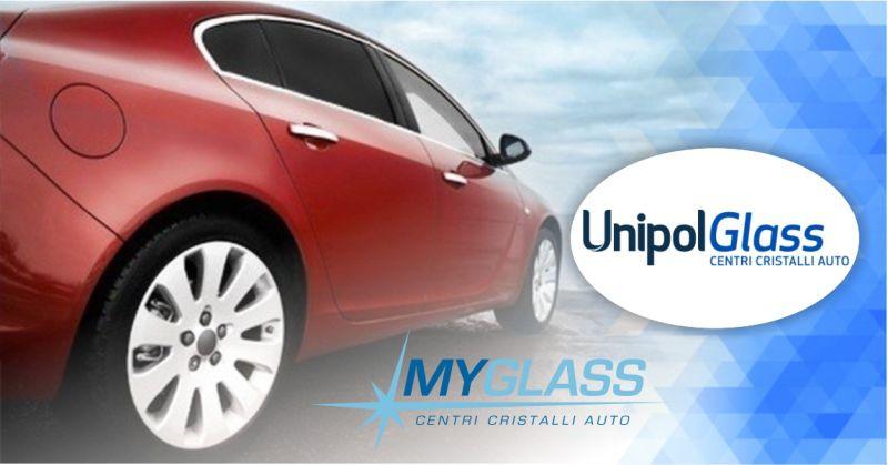 UnipolGlass centri cristalli - offerta servizio di oscuramento vetri auto