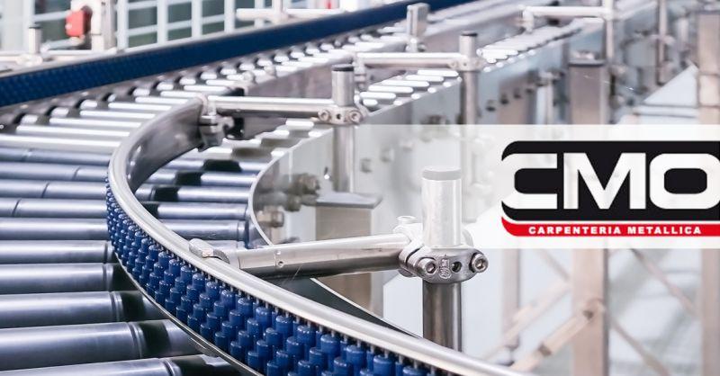 Offerta Forniture Metalliche Industria Alimentare Chieti - Occasione componenti metallo linee di produzione