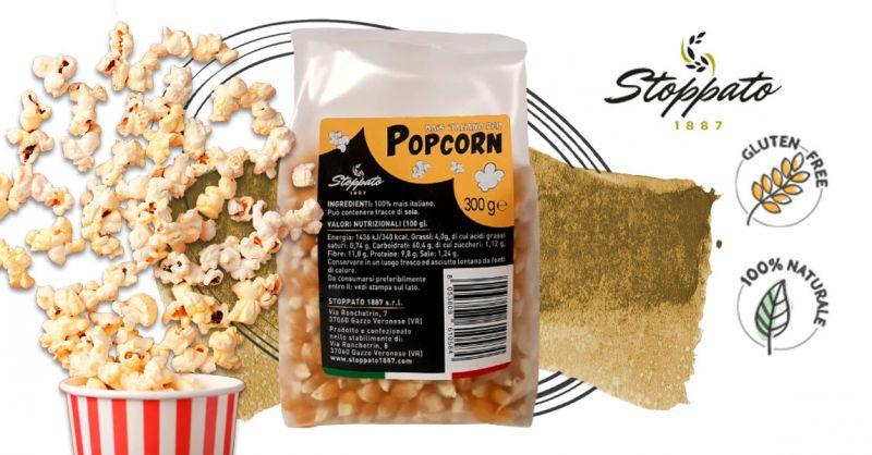 Offerta Vendita on line Mais per pop corn - Occasione Acquista On Line da Stoppato