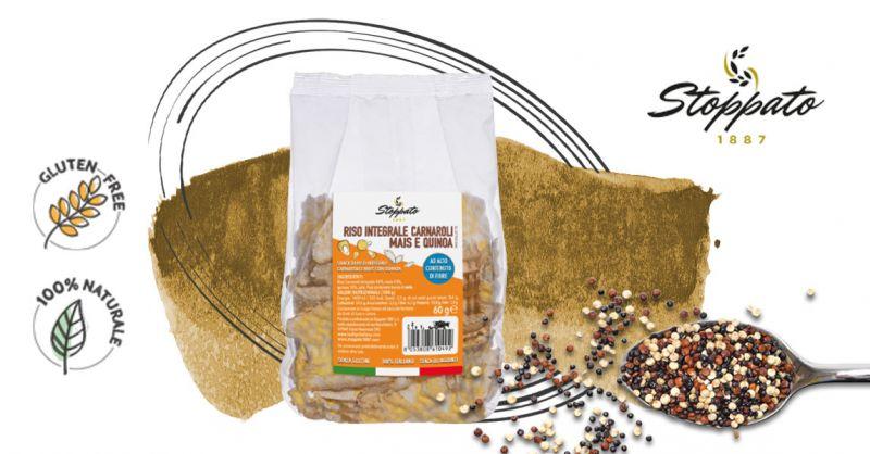 Offerta Chips Vegan con mais e quinoa - Occasione gallette di riso carnaroli senza glutine
