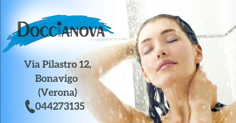 DOCCIANOVA snc - Occasione realizzazione box doccia acrilico e cristallo Verona e provincia